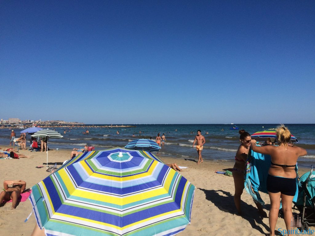 Beach in Alicante