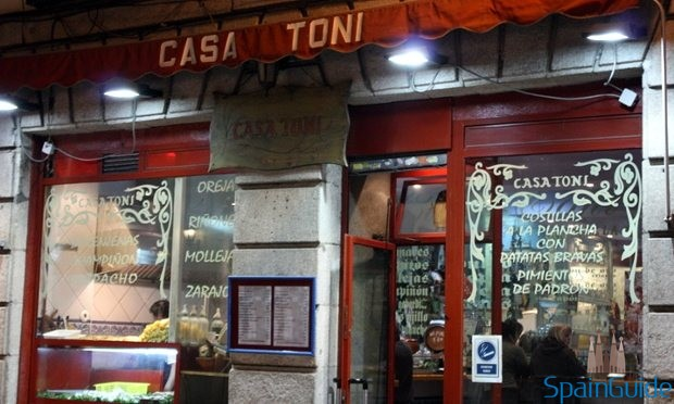 Casa Toni Madrid