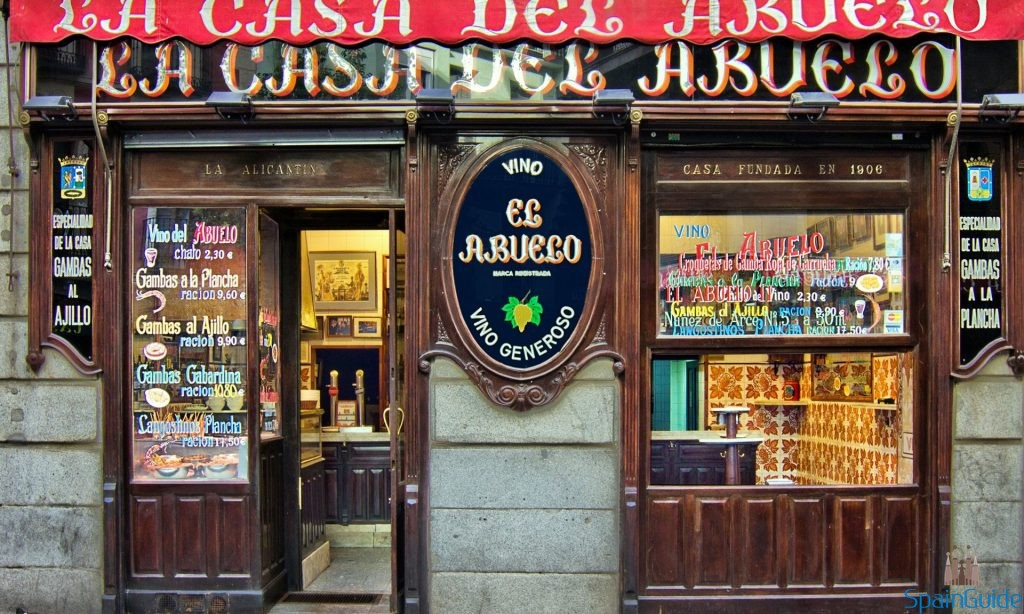 La Casa del Abuelo Madrid