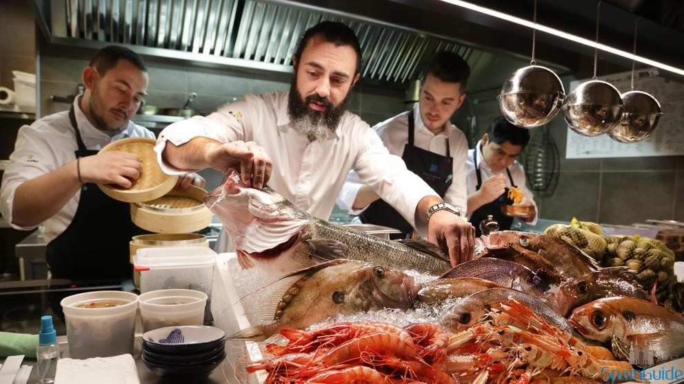 Restaurante de pescado en Barcelona