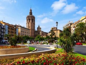 Валенсия - Площадь Королевы