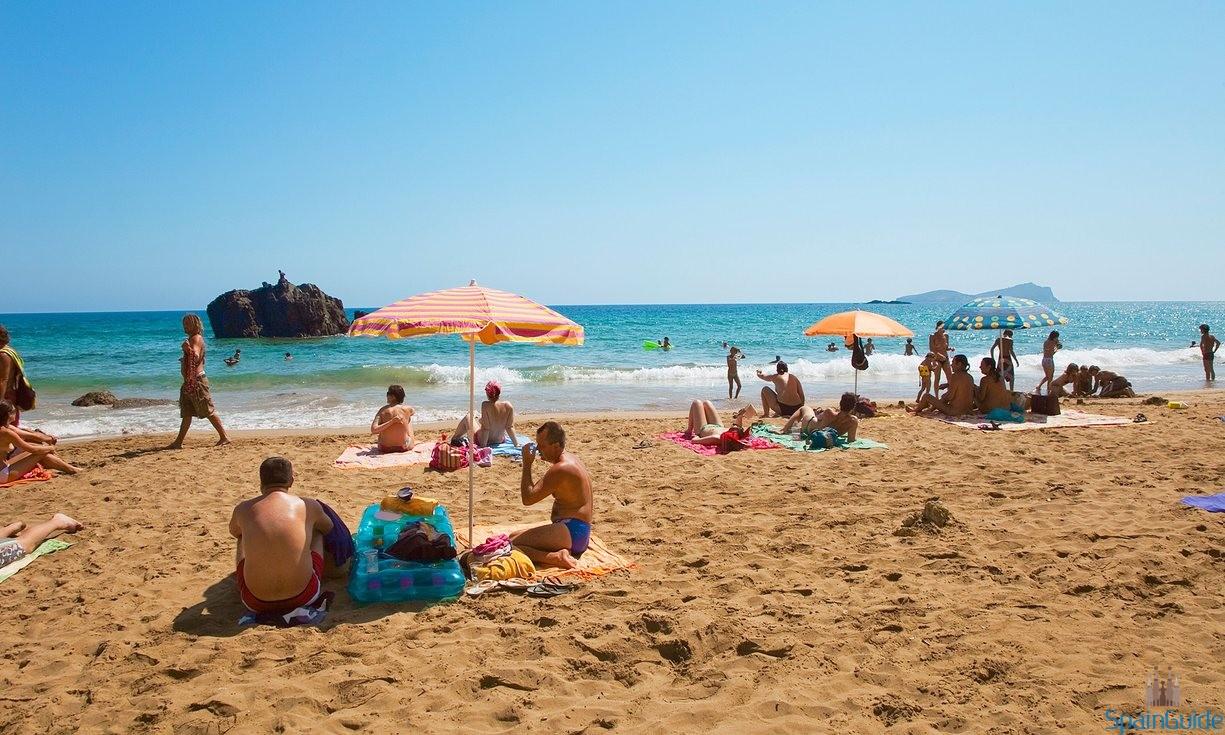 Пляж Aiguas Blancas