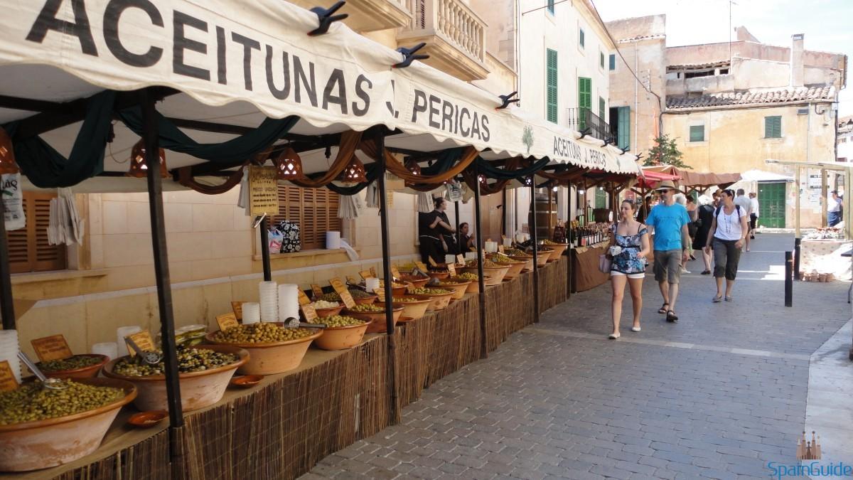 Рынок Santanyi Mallorca