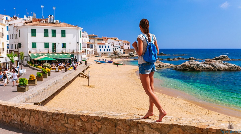 spain andalucia girl barefoot